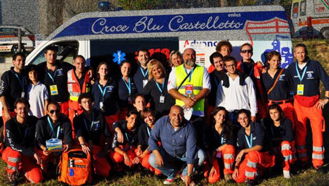 Un aiuto dalla Croce Blu Castelletto