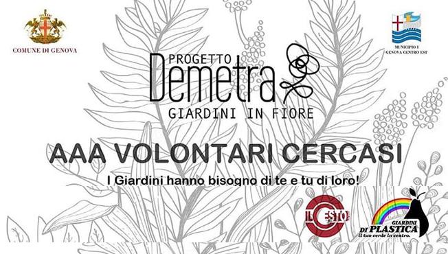 Volontari per il Progetto Demetra
