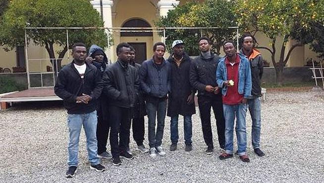 Accoglienza profughi a Loano