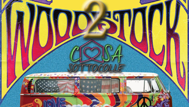 Woodstock 2 per la Casa Sottocolle